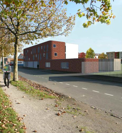 Image for A Roubaix, le chantier de la résidence accueil est lancé