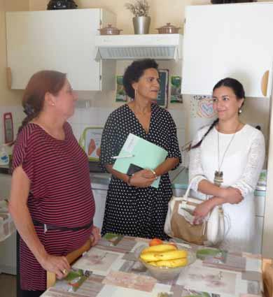 Image for Sophie Elizéon, préfète déléguée à l'égalité des chances, en visite chez Aréli
