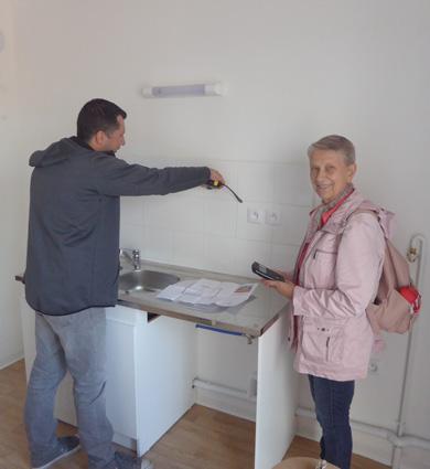 Image for A La Bassée, les futurs locataires de la résidence seniors en « visite privée » !