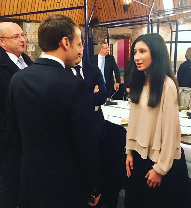 Image for La lauréate… etlePrésident!
