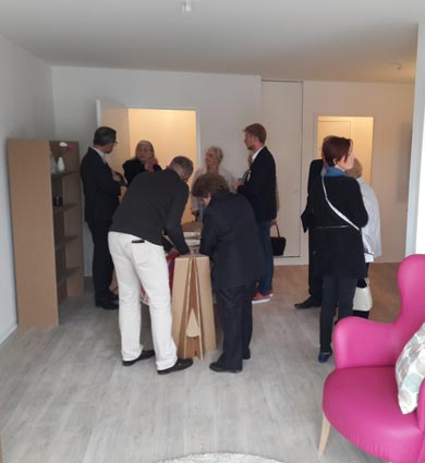 Image for Sainte-Catherine : Visite privée pour les futurs locataires de la résidence seniors