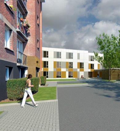 Image for Faches-Thumesnil : la résidence de logements temporaires se transforme