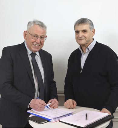 Image for Passage de relais à la présidence d'Aréli