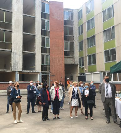 Image for A Lille, la construction de près de 130 logements accompagnés est lancée
